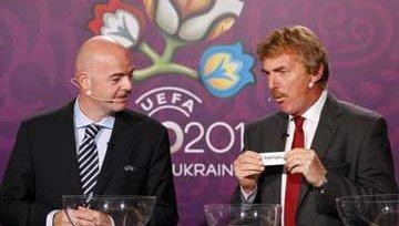 Результаты жеребьёвки ЕВРО 2012