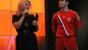 Новая форма сборной России: Футболисты стали богатырями