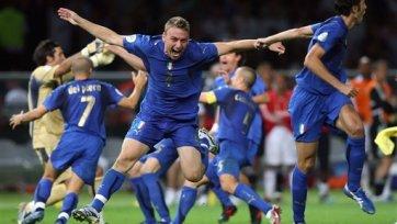 Сборная Италии тренируется на команде пятого дивизиона