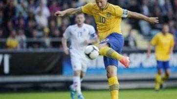 Сборная Исландии потрепала Швецию перед Евро-2012