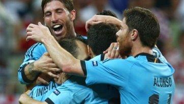 Евро-2012. Испания отправила Ирландию домой