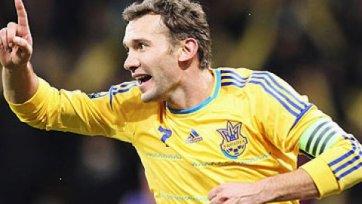 Андрей Шевченко может сыграть с Англией