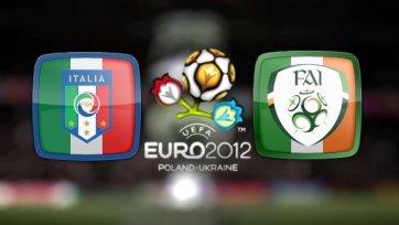 Евро-2012. Италия - Ирландия - итальянцы против итальянца