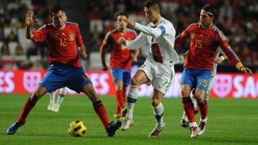 Евро-2012. Португалия - Испания - скучная игра с нескучным финалом