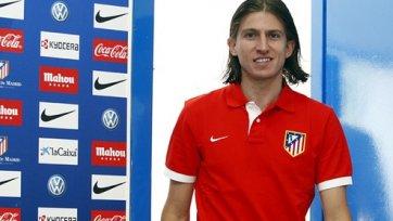 Контракт Луиса с «Атлетико» продлен до лета 2017 года