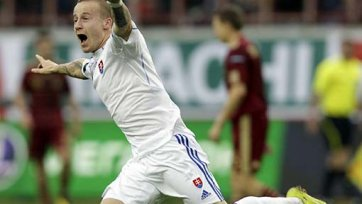 «Анжи» готов заплатить 17,5 миллионов за форварда сборной Словакии