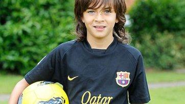 «Барселона» подписала юного ирландца
