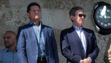 Фабио Капелло побывал в раздевалке «Зенита»