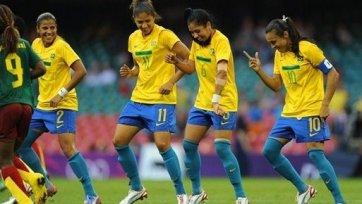 Олимпиада. Бразилия разгромила Камерун