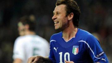 «Милану» Кассано не нужен