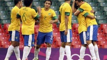 Олимпиада. Бразилия сыграла на нервах у фанатов