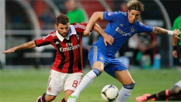 «Милан» удачливее «Челси»