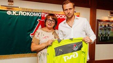 «Локомотив» подписал голкипера ПАОКА