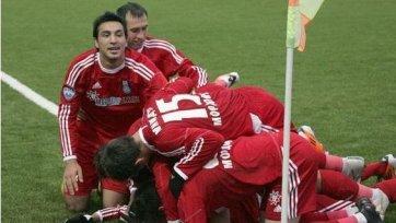 «Мордовия» одержала историческую победу в РПЛ