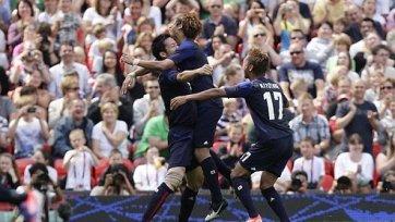 Олимпиада. Япония вышла в полуфинал футбольного турнира