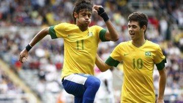 Сборная Бразилии с трудом вышла в полуфинал Олимпиады