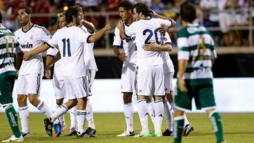 Выставочный матч остался за «Реалом»