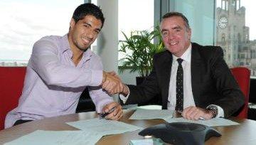 Суарес продлил контракт с «Ливерпулем»