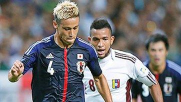 Кейсуке Хонда не смог помочь Японии обыграть Венесуэлу