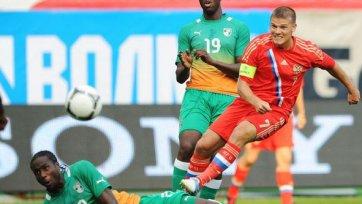 Сборная России и Кот-д'Ивуара победителя не выявили