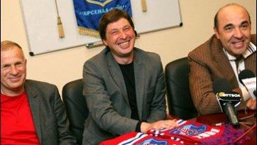 Александр Томах теперь – спортивный директор «Арсенала»