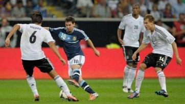 Драма в матче Германия - Аргентина