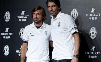 Буффон и Пирло не смогут сыграть в матче против «Милана»