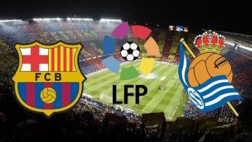 Анонс. «Барселона» - «Реал Сосьедад» - в погоне за чемпионством