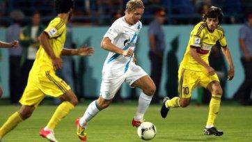 «Зенит» потерял первые очки в сезоне