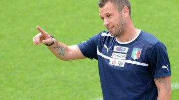 Антонио Кассано присоединится к «Интеру»