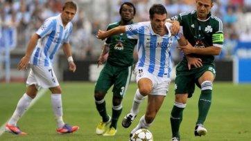 «Малага» уверенно стартовала в Лиге чемпионов