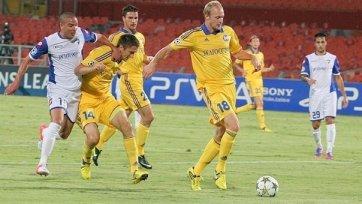 БАТЭ вышел в следующий раунд Лиги чемпионов