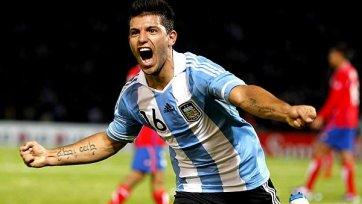 Серхио Агуэро может сыграть против Перу несмотря на травму
