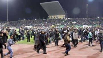 Во время матча «Аль-Ахли» - «Аль-Масри» погибло 73 человека