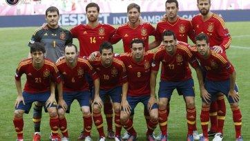Сборная Испании размялась на Саудовской Аравии