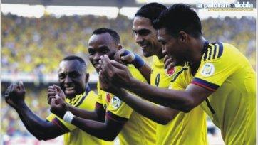Уругвай неожиданно легко проиграл Колумбии