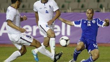 Сборная Израиля не смогла обыграть Азербайджан