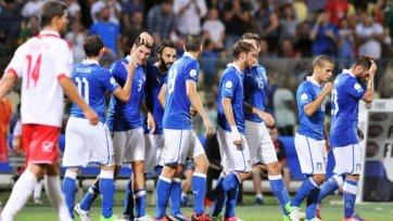 Италия не испытала проблем с Мальтой