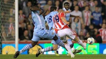 «Манчестер Сити» второй раз в сезоне сыграл вничью