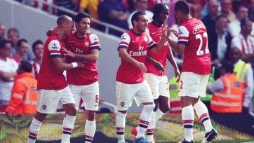 «Арсенал» расстрелял из «пушки» «Саутгемптон»
