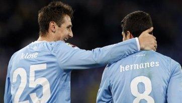 Дубль Эрнанеса принес «Лацио» победу над «Кьево»
