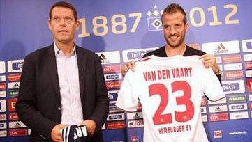 Ван дер Ваарт: «Возможно, «Гамбург» станет моим последним клубом»