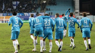 «Зенит» стартует в Лиге чемпионов в лазурной форме