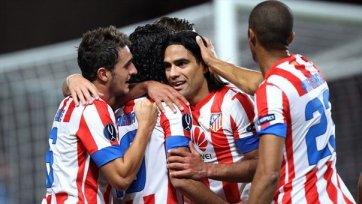 Мадридский «Атлетико» уверенно стартовал в Лиге Европы