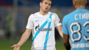 Александр Кержаков переведен в дубль за некорректное поведение