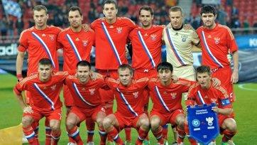 Известен состав сборной России на матчи против Азербайджана и Португалии