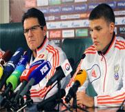 Пресс-конференция Фабио Капелло перед матчем Россия - Португалия