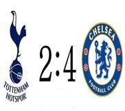 Тоттенхэм - Челси (2:4) (20.10.2012) Видео Обзор