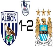 Вест Бромвич - Манчестер Сити (1:2) (20.10.2012) Видео Обзор