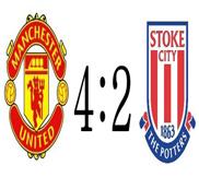 Манчестер Юнайтед - Сток Сити (4:2) (20.10.2012) Видео Обзор